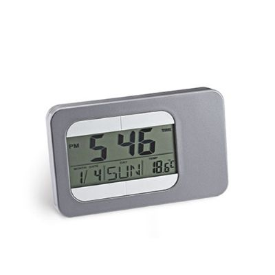 Servgela - Relógio de mesa com alarme para brindes.