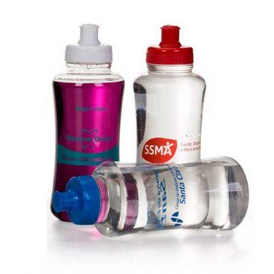 Squeeze Plástico com Filtro Personalizado | Squeeze personalizado. Ecológico vem com um filtro que garante maior pureza à água.