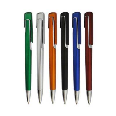 servgela - Caneta Plástica com cores Variadas
