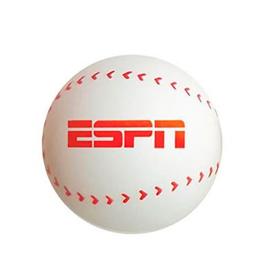 servgela - Bolas anti-stress Personalizada BasseBall | Bolinha anti-stress personalizada em formato de bola de baseball. É o brinde personalizado ideal para seu...