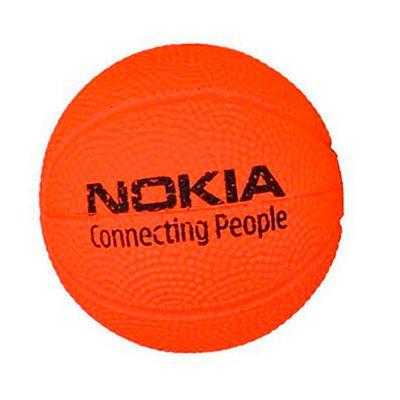 Bolinhas de Basquete Anti stress Personalizada | Bolinha Anti Stress personalizada no formato de bola de basquete.É o brinde personalizado ideal para seu evento. | ST BASQUETE VNL