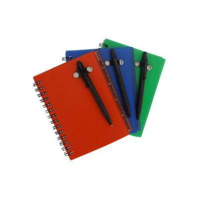 Servgela - Bloco de anotações com capa Plástica
