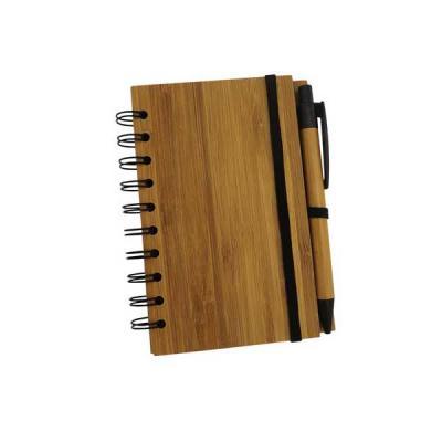 Servgela - Bloco Personalizado Ecológico com Capa de Bambu