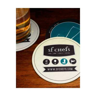 Servgela - Bolacha Porta Copos Personalizada