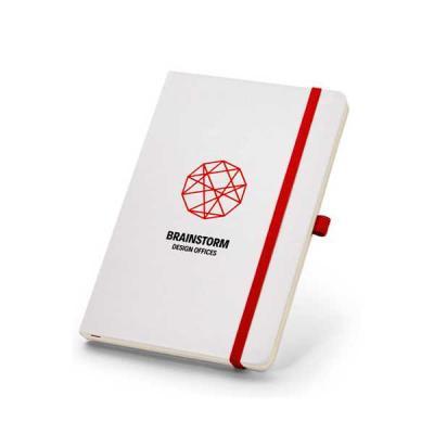 servgela - Caderno de Anotações Sem Pauta para Brindes
