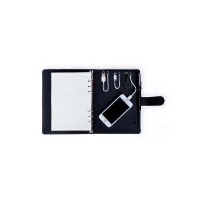 servgela - Caderno com Powerbank Personalizado