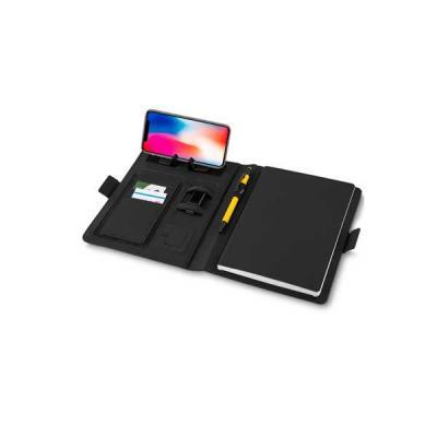 Servgela - Caderno Personalizado com Powerbank