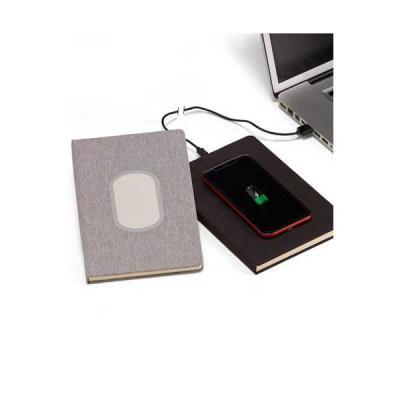 Caderno com Carregador Power Bank Personalizado - Servgela