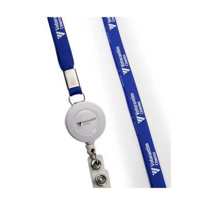 Servgela - Cordão Porta Crachá Retrátil Personalizado | Cordão Crachá Retrátil Personalizado, é o brinde ideal para seu evento. | ST CRACH4