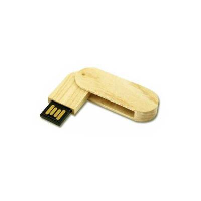 Servgela - Pen drive 4 GB Ecológico Giratório Personalizado