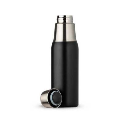 Servgela - Garrafa Térmica Personalizada Preto Fosco
