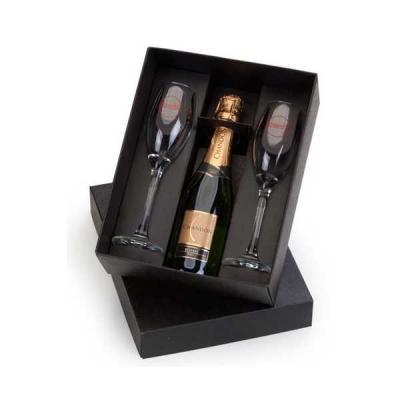 Servgela - Kit Mini Champagne com Taças