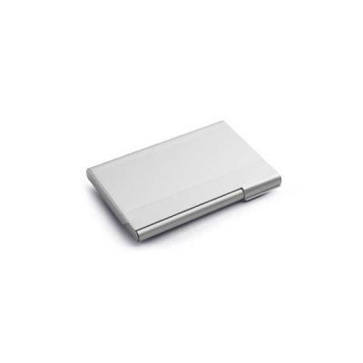 Porta Cartão de Visita em Alumínio Personalizado