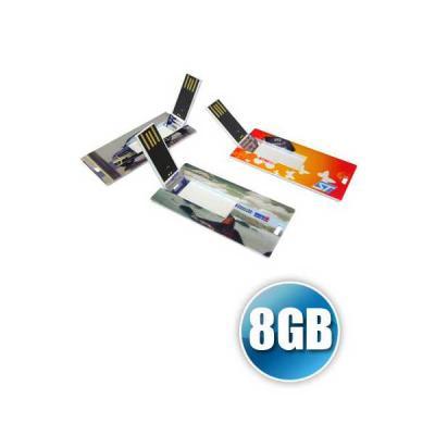 servgela - Pen card 8GB | Pen Card com capacidade de 8GB Personalizado. Em formato de mini cartão com impressão digital da logomarca. Entregamos o produto em tod...