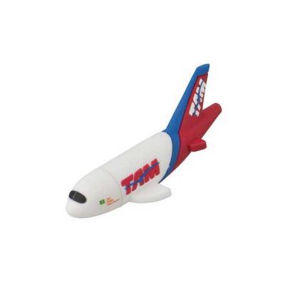 Pen drive Emborrachado Avião 3D - Servgela