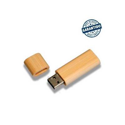 Servgela - Pen drive 4 gb de Bambu Personalizado