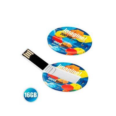 servgela - Pen drive Cartão Personalizado 16GB
