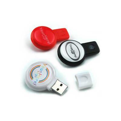 Servgela - Pen Drive 4GB Redondo Personalizado
