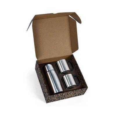 Servgela - Garrafa Térmica Personalizada de Inox   Conjunto de Garrafa térmica e 2 canecas personalizada.É o brinde personalizado ideal para seu evento.   STP iI...