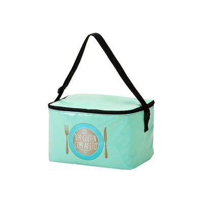 Unibag - Bolsa térmica de nylon impressão em silk screen 1 cor. Ideal para o dia a dia saudável e final de ano! Mostre sua marca e seu estilo dentro e fora da...