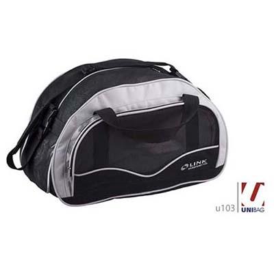 Unibag - Bolsa Sport. Bolsa cheia de atitude , essa mala poderá ser totalmente personalizada .Poderá ser usada tanto na academia ou viagem . Linda !!