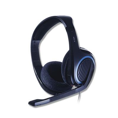 Headset Sennheiser com microfone para PC, Mac, Xbox 360, Xbox One, PS3 e PS4.