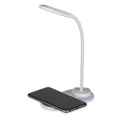Luminária LED, articulável com carregador wireless 10W