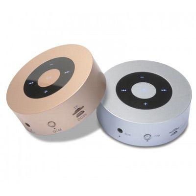 Connection Brindes - Caixa de som Bluetooth touch