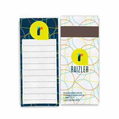 Bloco de Anotações Magnético - Raizler