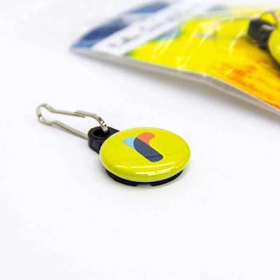 Button Decora Zíper Coleção Tie Dye