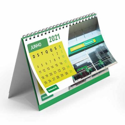 Calendário de Mesa Personalizado para Clinicas
