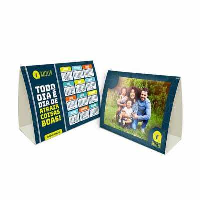 Display Mesa com encaixe de foto 14,7x30 cm