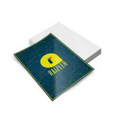 Folheto 10 x15 cm Impressão frente
