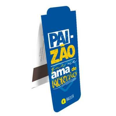 Marcador de Página Magnético 22,5x4,7cm + Card 7,4x15 cm