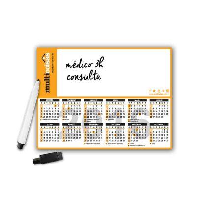 Raizler - Lousa Magnética - com calendário