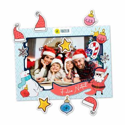 Porta-Retratos Magnético Natal