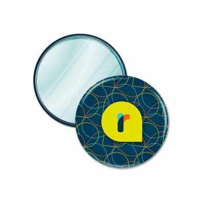 Button Espelho 5,7 cm - Raizler