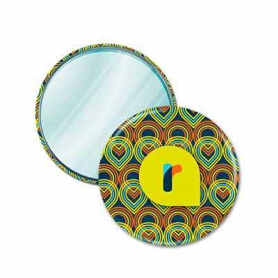 Button Espelho 7,62 cm