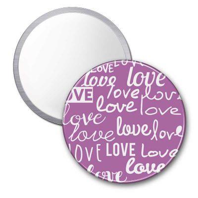 Raizler - Espelho Button 7,6 cm diâmetro - Raizler