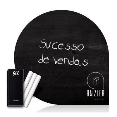 Raizler - Vinil Black Board com giz.