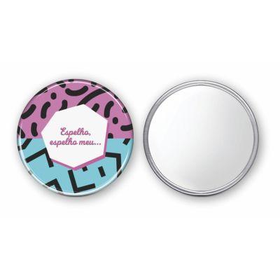 Raizler - Espelho Button 7,6 cm diâmetro