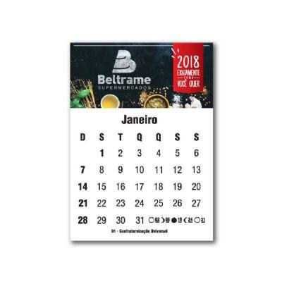 Raizler - Bloco calendário magnético personalizado