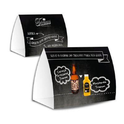 Raizler - Display de mesa 20x46 cm personalizável