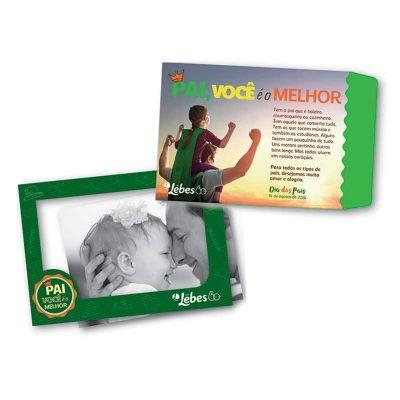 Raizler - Porta retratos magnético com envelope personalizado.