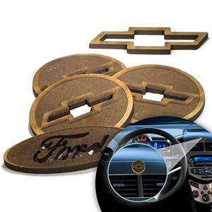 sp-ecologia - Aromatizador ecológico para automóveis feito em Madeira e no formato do seu Logo
