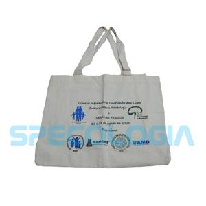 sp-ecologia - Eco bag com gravação personalizável.