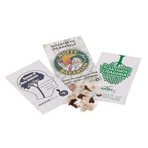 Envelope com semente. - SP Ecologia