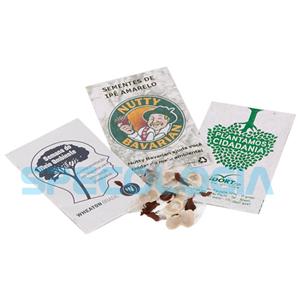 sp-ecologia - Envelope com sementes e gravação personalizável.