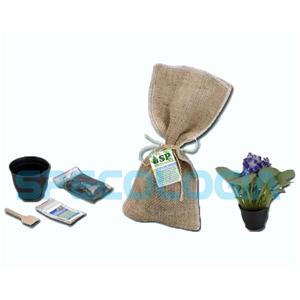 sp-ecologia - Kit para cultivo com juta.
