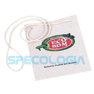 sp-ecologia - Papel semente com gravação personalizável.